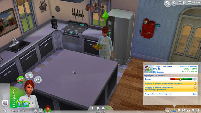 This career is fairly interesting and useful - Culinary | Career tracks - Careers / jobs tracks - The Sims 4 Game Guide