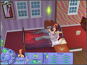 You could proceed with the pregnant process right away, however in some cases (lower relationship status) it won't be possible - Chapter 12 - Scenario 1 - The Sims Life Stories - Game Guide and Walkthrough