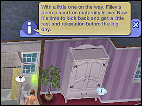 Goal: Prepare a room for the baby (+750 Aspiration) - Chapter 12 - Scenario 1 - The Sims Life Stories - Game Guide and Walkthrough