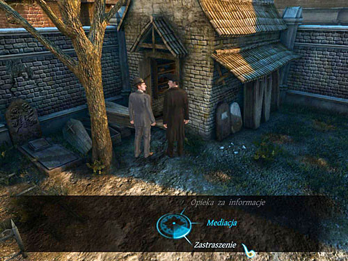 In the conversation with hiding kids you can mediate or frighten them - Visit Kurtz - Slaughter in Whitechapel - The Testament of Sherlock Holmes - Game Guide and Walkthrough