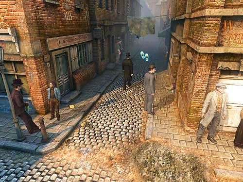 Leave cemetery and after meeting prince Woodville go to the given address - Visit Kurtz - Slaughter in Whitechapel - The Testament of Sherlock Holmes - Game Guide and Walkthrough