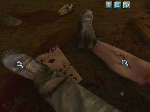 Look also at his leg - there is another awful wound - Visit Kurtz - Slaughter in Whitechapel - The Testament of Sherlock Holmes - Game Guide and Walkthrough