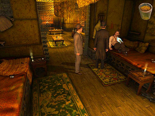 Open equipment - Get to the Closed Room - Slaughter in Whitechapel - The Testament of Sherlock Holmes - Game Guide and Walkthrough