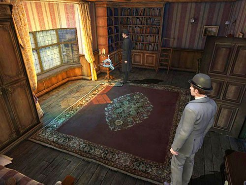 And violins (or rather a lack of case for it) on a table - Search a Henrys Room - Robbery in Kensington Gardens - The Testament of Sherlock Holmes - Game Guide and Walkthrough