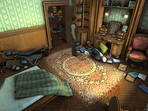 another boots by the mannequin - Complete Three Disguises - Hideout in Whitechapel - The Testament of Sherlock Holmes - Game Guide and Walkthrough