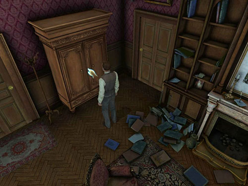 Now, you should have three pairs of shoes, trousers, three jackets and three hats - Complete Three Disguises - Hideout in Whitechapel - The Testament of Sherlock Holmes - Game Guide and Walkthrough