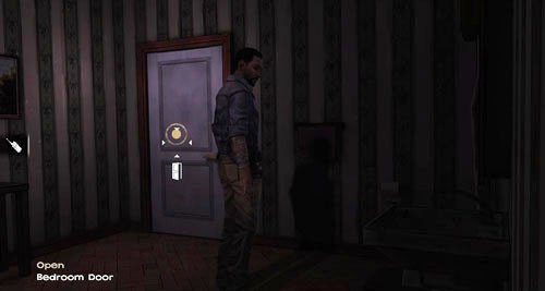 In the bathroom you can again check if there is some water by turning on the tap (Use: Sink) but there won't be any - Chapter 4: Bedside Manor - Episode IV: Around Every Corner - The Walking Dead - Game Guide and Walkthrough