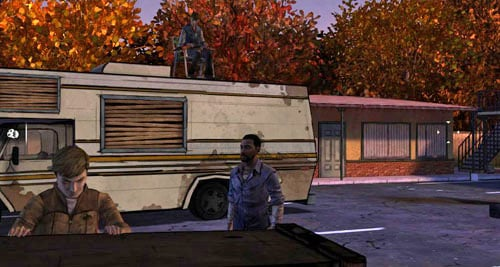 Move closer to the RV and look at it - Chapter 2: Bad Blood - Episode III: Long Road Ahead - The Walking Dead - Game Guide and Walkthrough