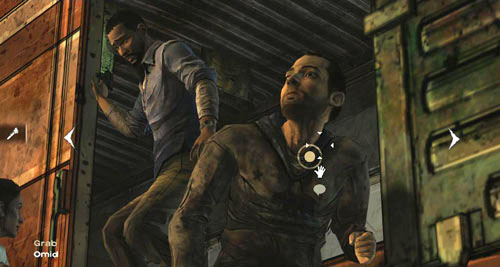 Do not worry, both of them will be saved - Chapter 7: Look Behind You - Episode III: Long Road Ahead - The Walking Dead - Game Guide and Walkthrough