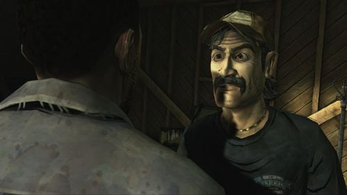 Action starts to exacerbate - Kenny would like to determine what to do when Lee will suffer from the bite again and possibly turn into zombie - Chapter 3: Trapped - Episode V: No Time Left - The Walking Dead - Game Guide and Walkthrough