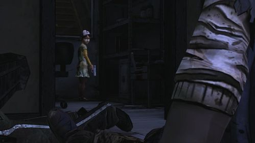 Clementine says goodbye to Lee and walks towards the exit, while Lee falls on the radiator and probably dies - Chapter 7: Goodbye - Episode V: No Time Left - The Walking Dead - Game Guide and Walkthrough
