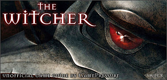Preparation of this guide cost us a lot of work - The Witcher - Game Guide and Walkthrough