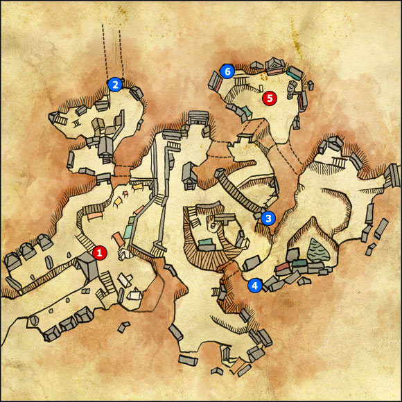 1 - M27 Vergen; M28 Dwarven catacombs - Maps - The Witcher 2: Assassins of Kings Game Guide