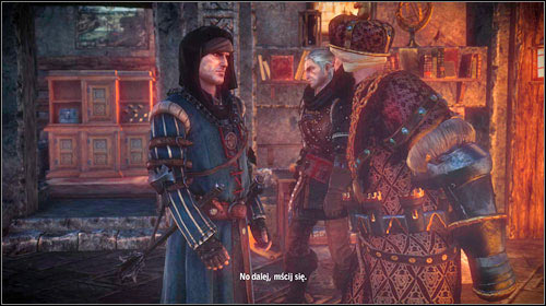 Once theyre all dead and the King barely makes it alive, Roche will enter the quarters - Vergen Besieged | Roche - Main missions - The Witcher 2: Assassins of Kings Game Guide
