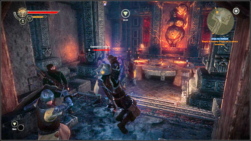 You can leave the tunnels of founders, this time through the exit leading to Vergen (M29, 6) - Vergen Besieged | Roche - Main missions - The Witcher 2: Assassins of Kings Game Guide