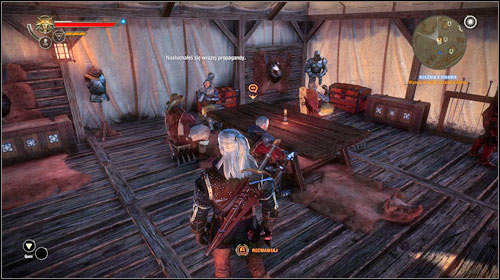 The Butcher can be found inside the nearby tent (M25, 19) - The Butcher of Cidaris - Main missions - The Witcher 2: Assassins of Kings Game Guide