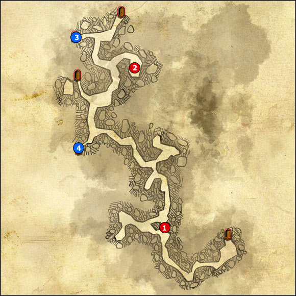 1 - M21 Cave below the camp; M22 Secret tunnel - Maps - The Witcher 2: Assassins of Kings Game Guide