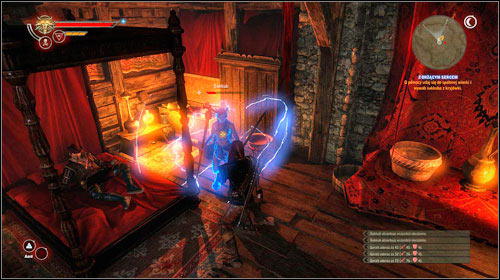 With Flickering Heart (steps 5-7) - The Witcher 2: Assassins