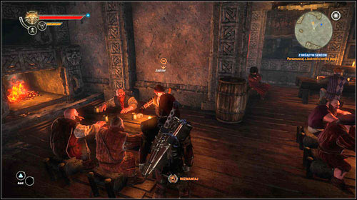 Leave the catacombs (M18, 1) and return to Vergen following the same way you came - With Flickering Heart (steps 1-4) - Side missions - The Witcher 2: Assassins of Kings Game Guide