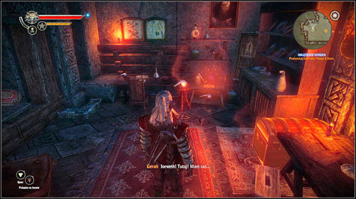 Go inside the sorceress' quarters (M15, 14) and thoroughly search all the room - Vergen Besieged - Main missions - The Witcher 2: Assassins of Kings - Game Guide and Walkthrough