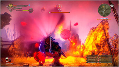 Additionally, the monster can call in a storm of burning arrows - be sure to dodge often and have Quen active at all times - and throw boulders at you - The Eternal Battle | Iorweth - Main missions - The Witcher 2: Assassins of Kings Game Guide