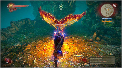 Once you collect all four of them, approach the projector (M16, 3) and a cutscene will start during which one of the Harpies places a crystal in the projector - Hunting Magic - Main missions - The Witcher 2: Assassins of Kings Game Guide