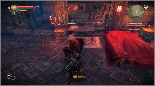 In order to learn more about the magic artifact, head to Philippa Eilharts house (M15, 14) - Hunting Magic - Main missions - The Witcher 2: Assassins of Kings Game Guide