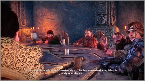 When youre ready, head to where the war council takes place, to the Castle of the Three Fathers (M15, 4) - you have to pass through long corridor to get there - The War Council - Main missions - The Witcher 2: Assassins of Kings Game Guide