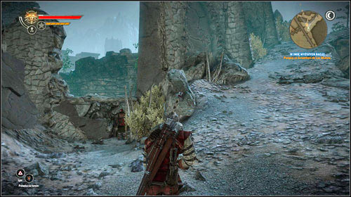 A bit further you will come across a few Endrega warriors (M32, 3), the last enemies in the cave - the exit is very nearby (M32, 4) - For a Higher Cause! - Main missions - Iorweth - The Witcher 2: Assassins of Kings - Game Guide and Walkthrough