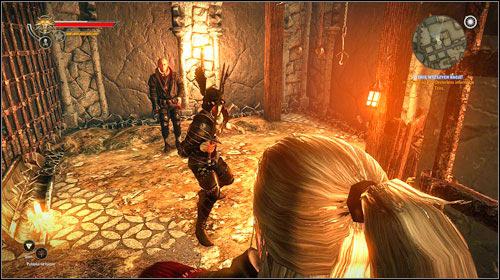 Before entering the dungeons, you will have to eliminate a few soldiers - it's best to go deeper into the sewers and wait for them to come to you themselves - For a Higher Cause! - Main missions - Iorweth - The Witcher 2: Assassins of Kings - Game Guide and Walkthrough