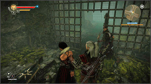 You won't uncuff Philippa, so you will have to lead her - The Spellbreaker - Main missions - Iorweth - The Witcher 2: Assassins of Kings - Game Guide and Walkthrough