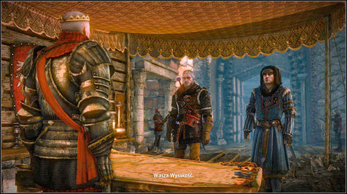 When youre ready, let Roche know and you will go meet with Radovid - For Temeria! - Main missions - Roche - The Witcher 2: Assassins of Kings Game Guide