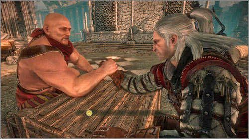 If you decide to wrestle, you will most likely lose - Bring it on: Loc Muinne | Common side missions - Side missions - Common - The Witcher 2: Assassins of Kings Game Guide