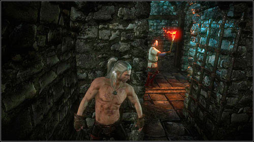 Nearby you will find potions, a rune, gauntlets and a small club (M5, 2) - The Dungeons of the La Valettes (steps 1-4) - Main missions - The Witcher 2: Assassins of Kings Game Guide