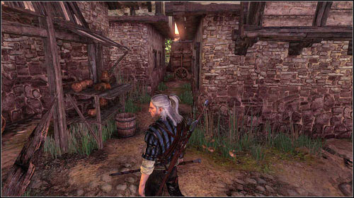 The monastery gate is locked, so you have to find a different entrance - To the Temple - Main missions - The Witcher 2: Assassins of Kings - Game Guide and Walkthrough