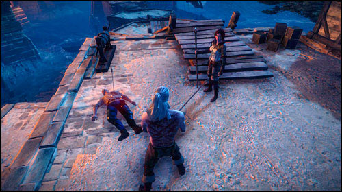 If you confirm the magic properties of the amulet, Newboy will be sent to the siege without any armour - Meliteles Heart | Prologue side missions - Side missions - The Witcher 2: Assassins of Kings Game Guide