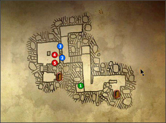 1 - M5 Castle Dungeons; M6 Basement - Maps - The Witcher 2: Assassins of Kings Game Guide