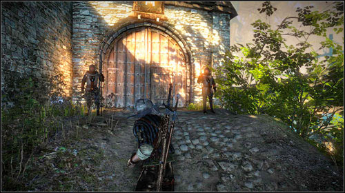 You will be able to enter Loredos residence only during the night - come to the gate (M7, 4) only after 9PM - Indecent Proposal - Main missions - The Witcher 2: Assassins of Kings Game Guide