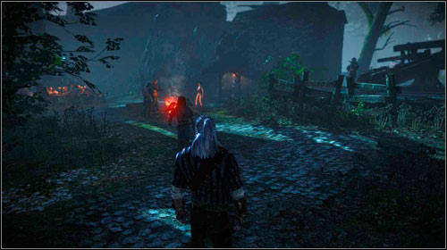 Once inside the residence, follow Roche - Indecent Proposal - Main missions - The Witcher 2: Assassins of Kings Game Guide