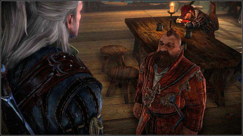 Zoltan can be found at the tavern (M7, 3), sitting by the table with his friends - The Assassins of Kings (steps 1-6) | Act 1 main mission - Main missions - The Witcher 2: Assassins of Kings Game Guide