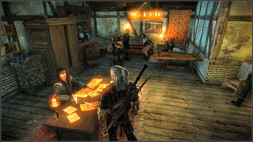 If you agree to throw everything, you will be able to talk with Roche - The Rose of Remembrance - Main missions - The Witcher 2: Assassins of Kings Game Guide