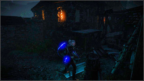 If you killed everyone, you can use the door to get inside the residence - Death to the Traitor! - Main missions - The Witcher 2: Assassins of Kings Game Guide