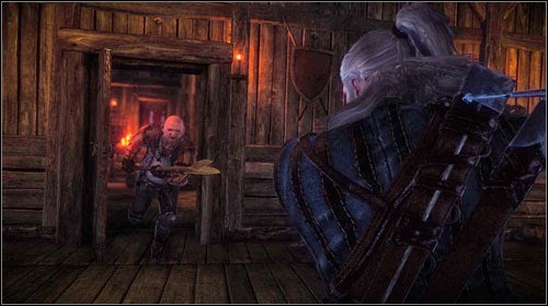 Once you enter the last floor, you will note a tied Ves, who will warn you about the trap - Death to the Traitor! - Main missions - The Witcher 2: Assassins of Kings Game Guide