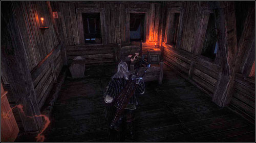 Untie Ves (right mouse button) and go into the next room - Death to the Traitor! - Main missions - The Witcher 2: Assassins of Kings Game Guide