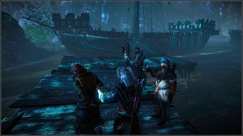 This plan is definitely easier and shorter - The Floating Prison - Main missions - The Witcher 2: Assassins of Kings Game Guide