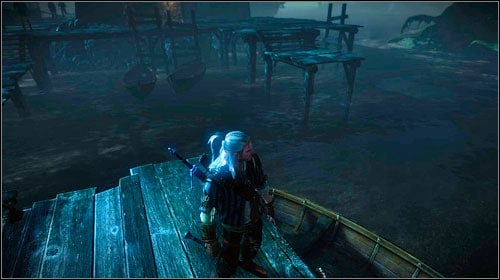 After defeating Loredo you will have to return onto the ship - The Floating Prison - Main missions - The Witcher 2: Assassins of Kings Game Guide