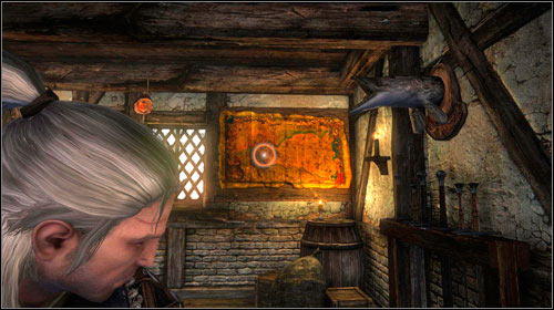 Once you enter the Blue Stripes headquarters (M7, 29), you will see a small feast - Hung Over - Side missions - The Witcher 2: Assassins of Kings - Game Guide and Walkthrough