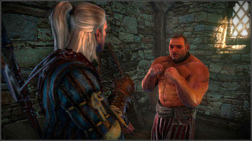 The second enemy is Fliparse and just like before - you shouldnt have problems with handling him - One on One: Flotsam - Side missions - The Witcher 2: Assassins of Kings Game Guide