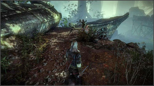 The troll (M8, 6) can be found beside the destroyed bridge, in the eastern part of the area - Troll Trouble - Side missions - The Witcher 2: Assassins of Kings Game Guide