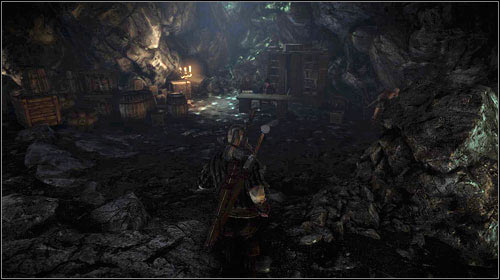 Inside the cave, head to its end where you will meet Vencel Pugg (M11, 2) - The Scent of Incense - Side missions - The Witcher 2: Assassins of Kings Game Guide